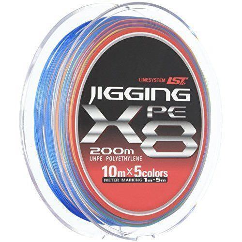 LINE SYSTEM JIGGING PE X8 200m  6  pesca LINE From JAPAN
