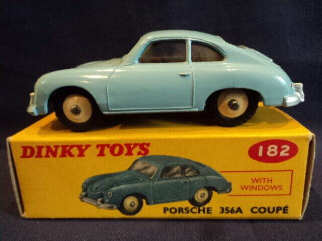 Dinky Spielzeugs 1960's Porsche 356A Coupe No 182 MINT Ex Shop Stock WOW