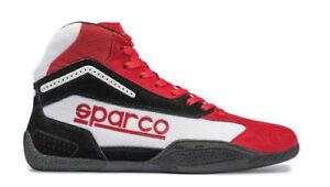 Sonderangebot-Sparco-Gamma-KB-4-Kart-Schuhe-Kinder-Groesse-26-Rot-weiss