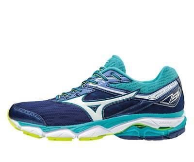 Mizuno Wave Ultima 9 Running Shoes Women/'s J1GD170908 Blueprint//White//Tile Blue