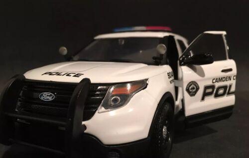 Camden County Police NJ 1:24 Ford Interceptor Explorer Utility SUV