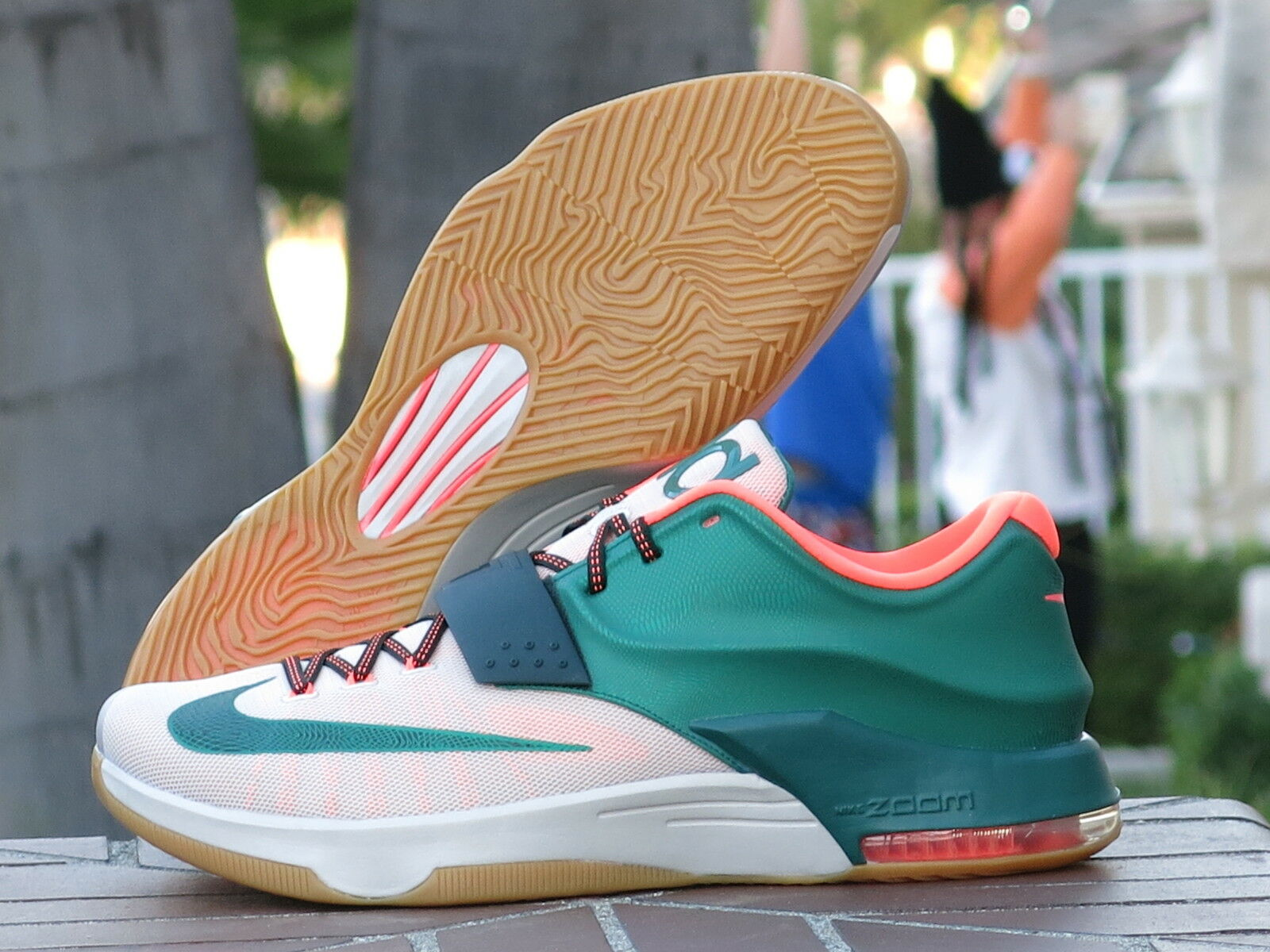 Nike Kevin Durant KD VII 7 Miami Easy  Men's Basketball Shoes 653996-330 SZ 13