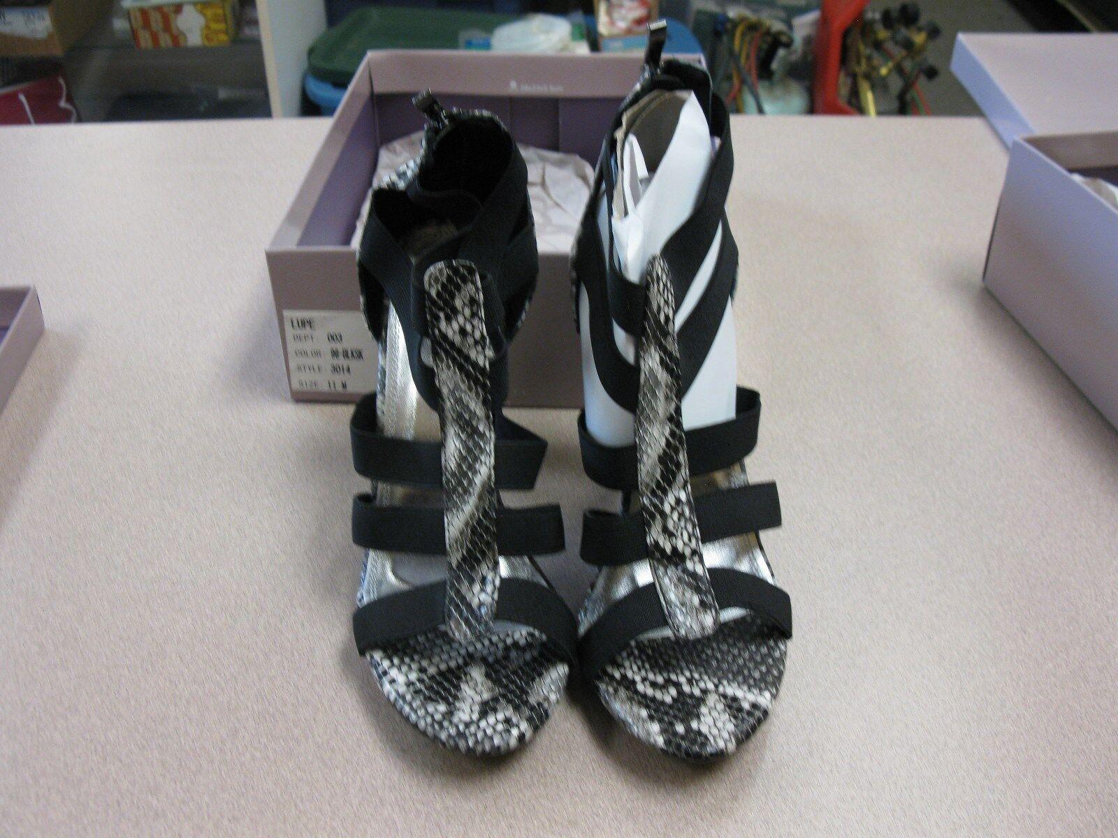 Women's Bakers Black High Heels shoes Sandals Size Size Size 11M  Lupe  9de632