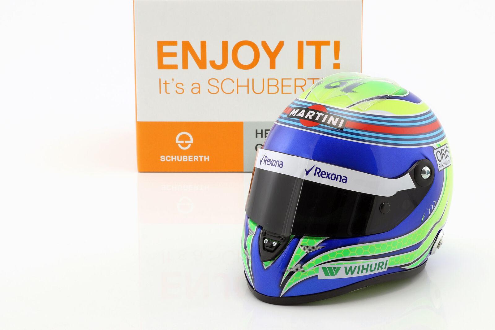 Felipe Massa Williams FW38 Formula 1 2016 Casco 1 2 Schuberth