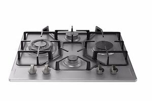Empava 24 Stainless Steel 4 Italy Imported Sabaf Burners Stove Tops