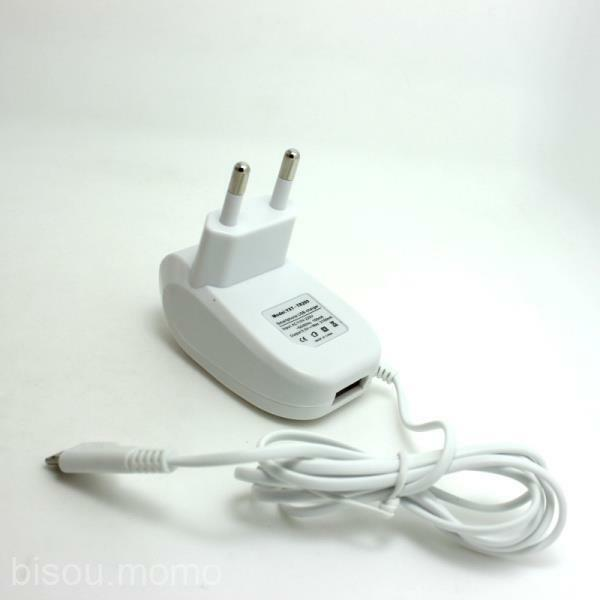 Micro USB White EU Plug 2.1A Output Wall Charger for HTC lg Galaxy