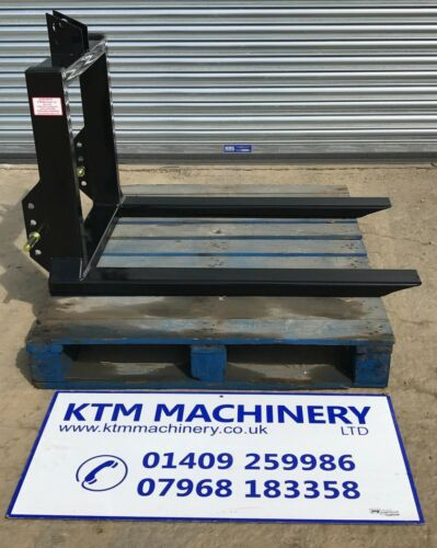 FREE NEXT DAY DELIVERY Tractor Mounted Pallet Forks 3 Point Linkage