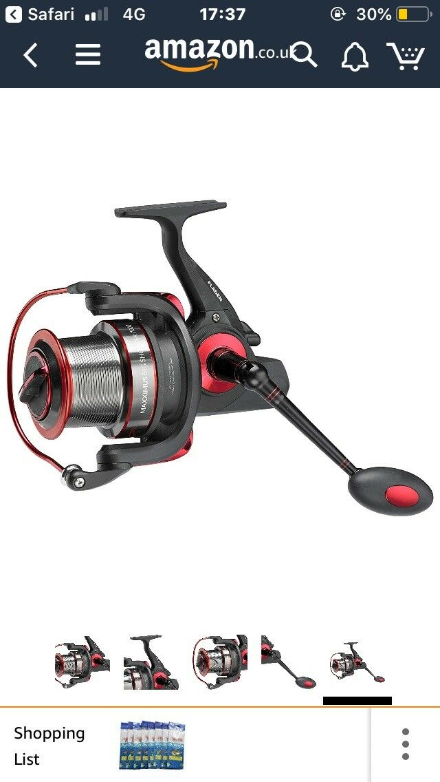 Fladen Maxximus Big Shooter 7000 Surf Fishing Reels