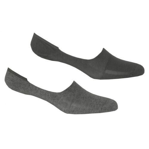 Levi/'s 2-Pack 168sf No-show Shoe-Liner Socks Grey Melange