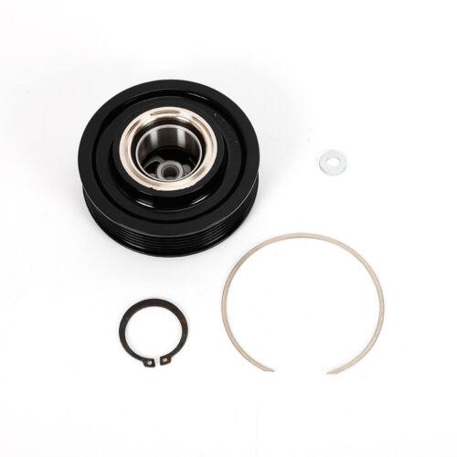 Für AUDI C6 4F C5 Kupplung Riemenscheibe Klimakompressor Für Denso 6SEU14C DHL