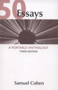 50 essays a portable anthology 9780312609658 ebay