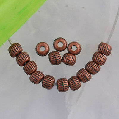 200PCS Antiqued copper crafted gear spacer beads FC401