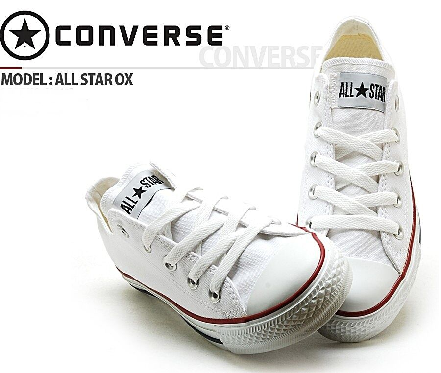 CONVERSE ALL STAR LO SHOE SHOES ORIGINAL WHITE M7652 (PVP IN STORE