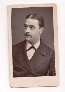 Vintage-CDV-Victorian-Actor-Opera-Singer-M-Maruis