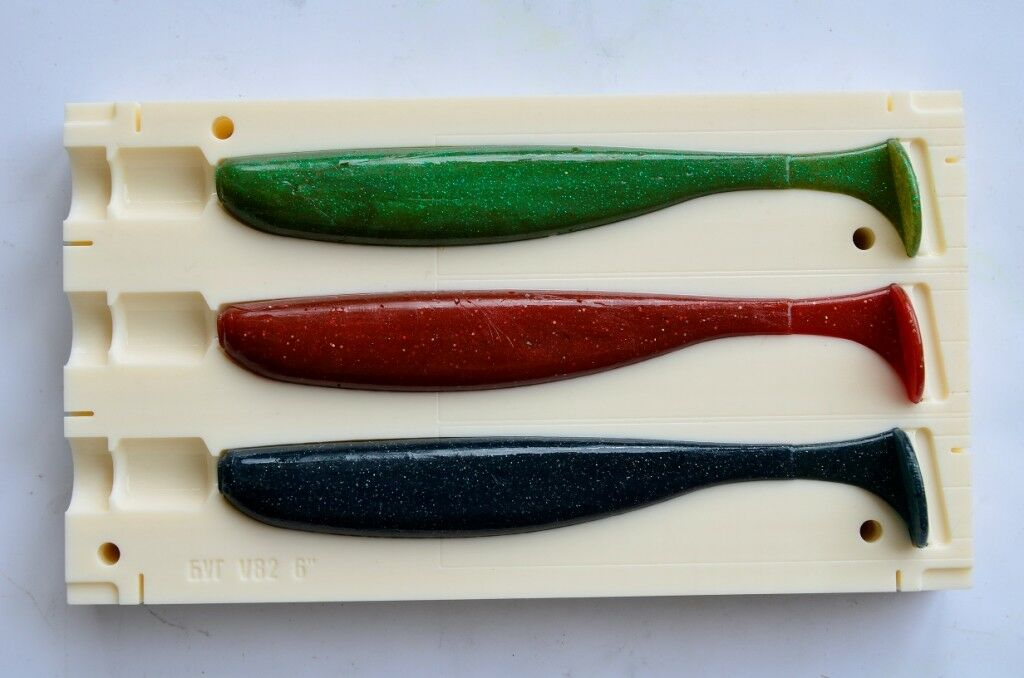 DIY Injection Bait Mold Easy Shiner 6