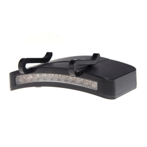lampe led casquette clips  LED Pile LR3 AAA