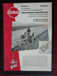 Eicher Pflug Typ 5002 5003 Siegerklasse - Lübeck, Deutschland - Eicher Pflug Typ 5002 5003 Siegerklasse - Lübeck, Deutschland