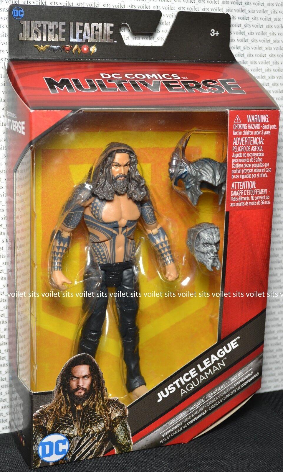 DC Comics Multiverse Collect Steppenwolf Justice League Exclusive Figure Aquaman