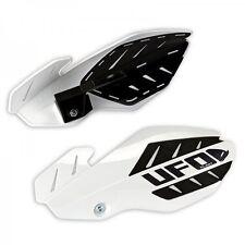 UFO Flame Handguards KTM SX 125 (2016) SX 250 SXF ALL EXC 250 300 (14-16) White
