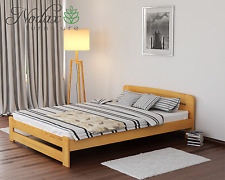 Nodax Solid Pine Super King Size Bedframe 6ft Option With 2x Under