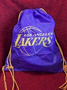 LOS-ANGELES-LAKERS-LA-NBA-DRAWSTRING-SLING-BACKPACK-SACK-GYM-TOTE-BASKETBALL