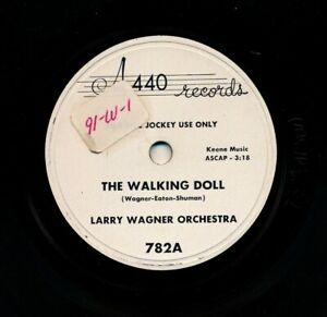 LARRY-WAGNER-Orchestra-w-BILLY-BUTTERFIELD-on-1954-A440-782-The-Walking-Doll
