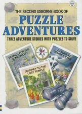 Second Usborne Book of Puzzle Adventures: Three Adventure Stories with Puzzles