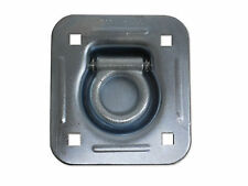 """1/2"""" Thick Recessed Stainless Steel 5000# D Ring Trailer Car Truck"""