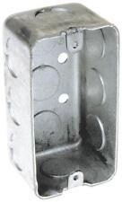"Handy Box 1 Gang Raco 8660 16.5 cu-in Lot of 20 4 X 2 X 1-7//8/""D"