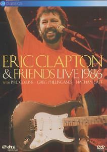 1 von 1 - ERIC CLAPTON & FRIENDS - Live 1986   DVD   NEU&OVP/SEALED