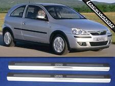 Vauxhall Corsa 'C' SRi 2 Door Sill Kick Plates Sills Protectors