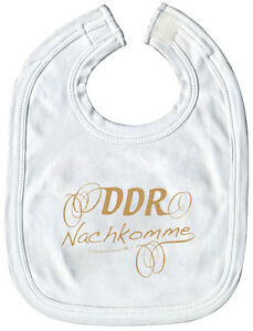 Ostalgie • DDR NACHKOMME • Qualitäts Baby-Lätzchen NEU N 07031 rosenholz