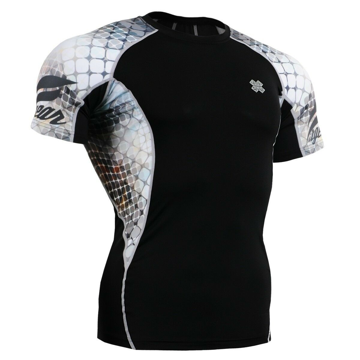 FIXGEAR C2S-B38 Compression Base Layer Workout Shirt Sportswear Gym MMA
