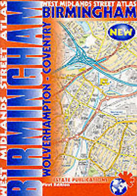 Birmingham Street Atlas, , Very Good Book