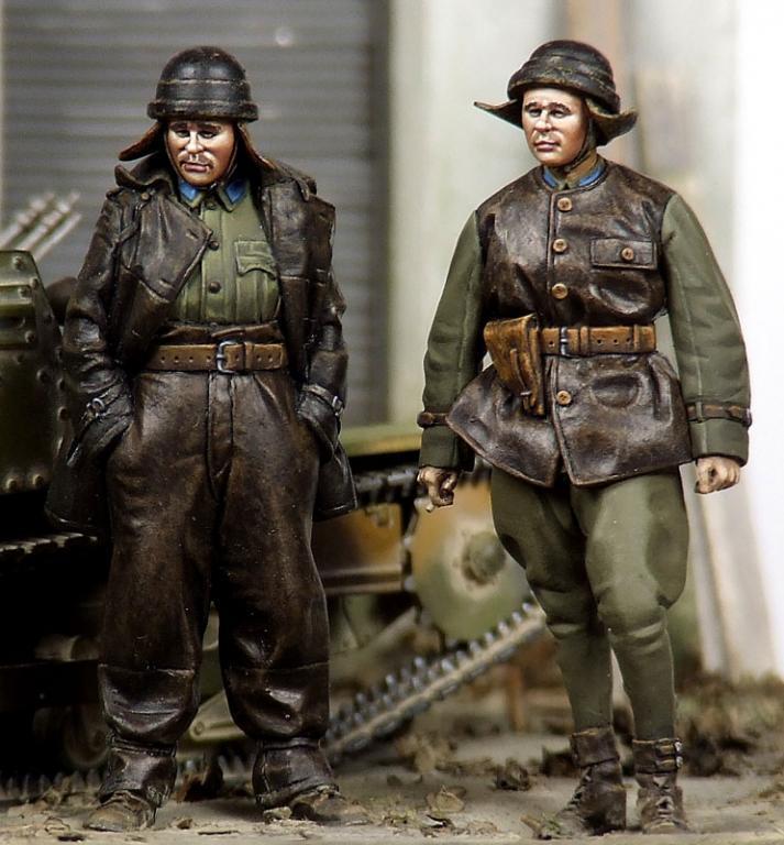 The Bodi 1 35 Hungarian Panzer Crews
