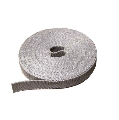 Rollladen Gurt Gurtband Band Breite 14mm 5m Grau Gurtwickler Wickler Rollo