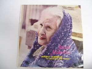 BENEDICT-SILBERMAN-JEWISH-MEMORIES-rare-LP