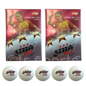 12x-DHS-3-Star-40mm-Table-Tennis-Ping-Pong-Competition-Balls-White-Free-Postage