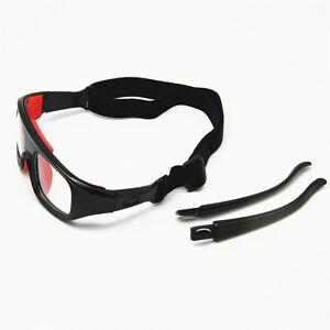 29978c4633e6 Image is loading Protective-Sports-Goggles-Optical-Frame-Basketball-Glasses -Detachable-