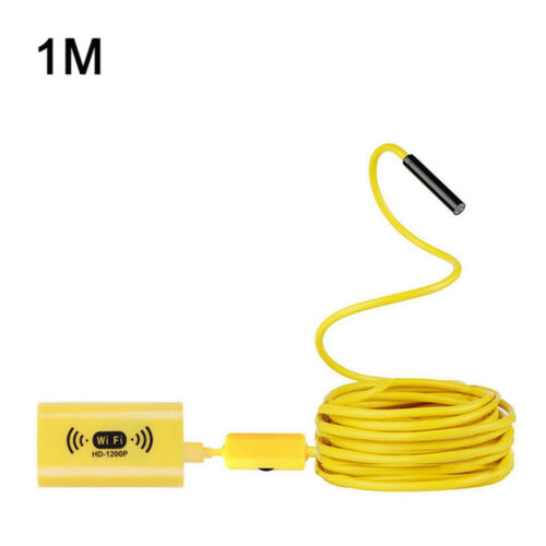 10M 8LED 1200P HD WiFi Endoscope Borescope Inspection Camera for iPhone Android