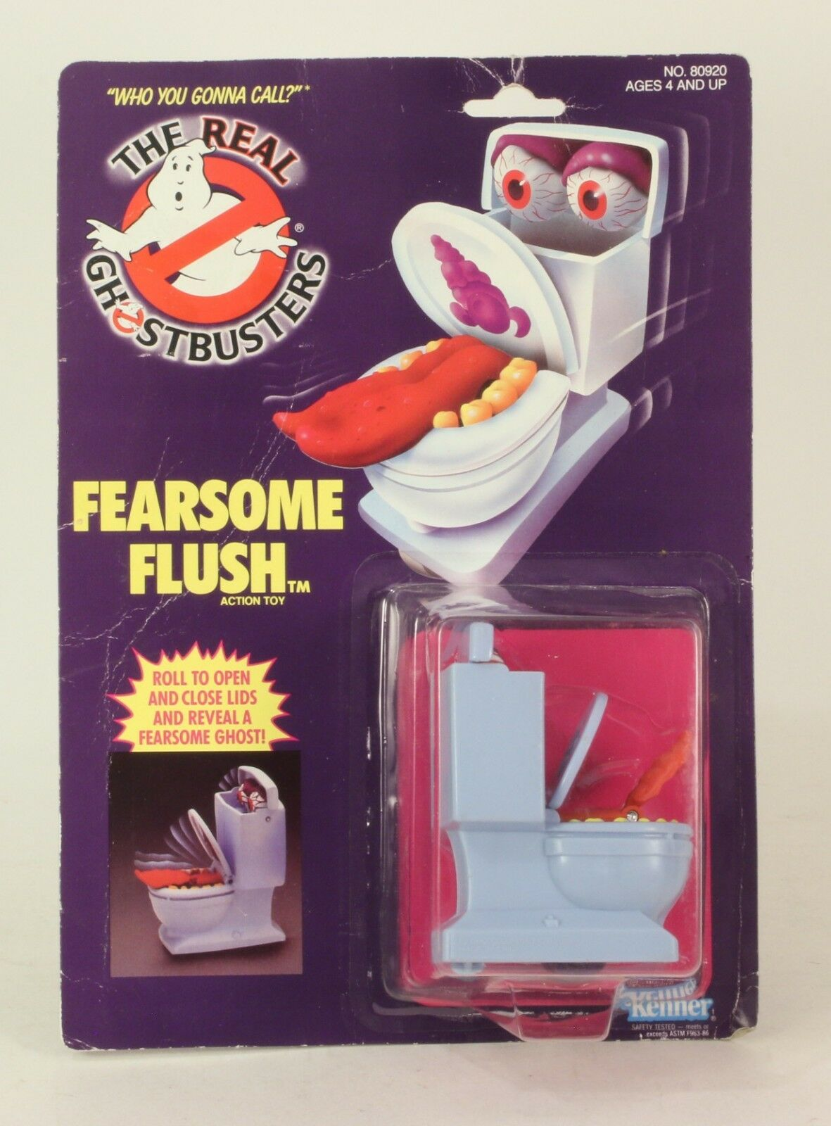 The Real Ghostbusters Fearsome Flush  MOC 1984