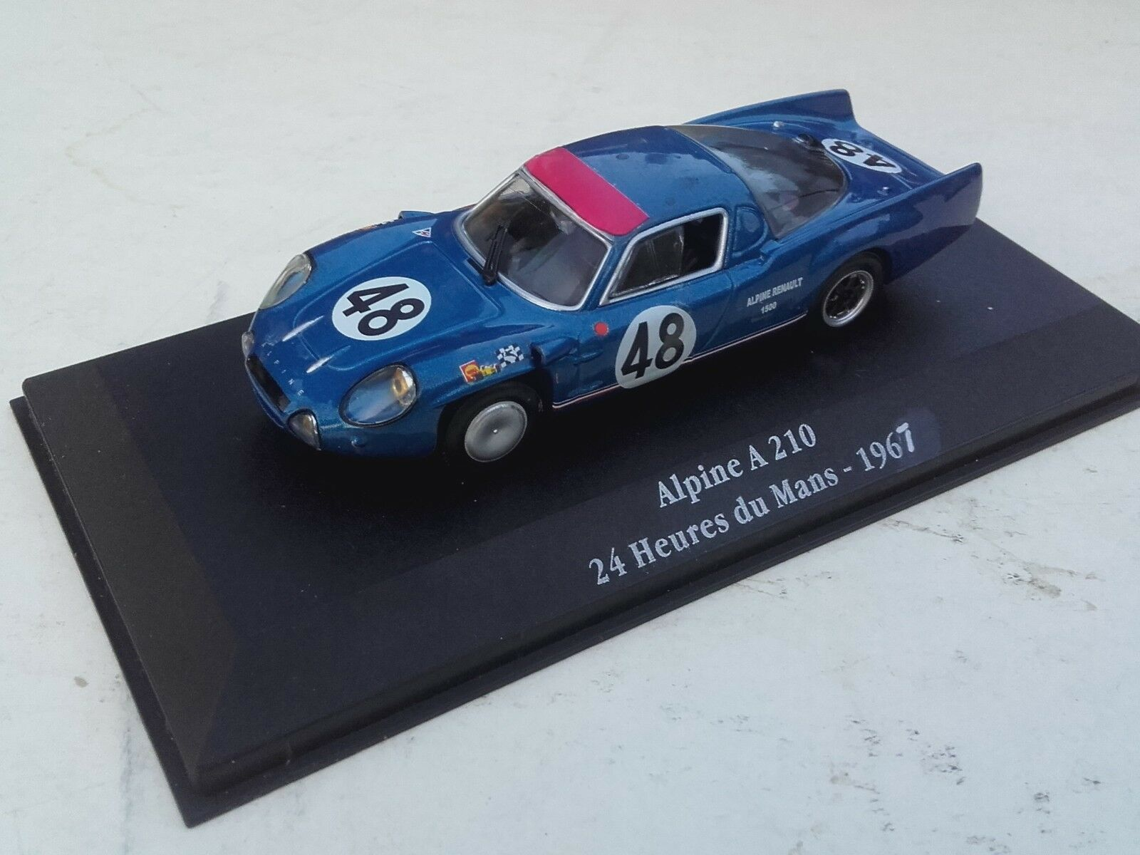 Alpine a210 n 48 24 hours of le mans 1967 1 43 12eme