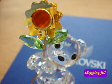 SWAROVSKI CRYSTAL - Kris Bear - Especially For You Sunflower - RETIRED 842934