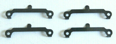 4 X Hornby Dublo Axle Hanger For Coach Bogie, Shouldered Later Finish Spares Crease-Resistenza
