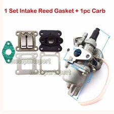 Carb Intake Reed Gasket 2 Stroke 47cc 49cc Engine Pocket Dirt Moto Bike ATV Quad