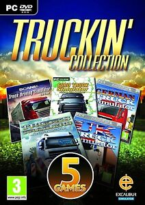 Truckin-Collection-PC-DVD-5-Games-100-Brand-New