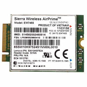 Details about Lenovo Thinkpad X260 T460 P70 Sierra Airprime EM7455 4G LTE  4XC0L59128 00JT542