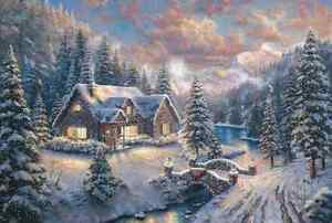 Chart-Needlework-DIY-Counted-Cross-Stitch-Patterns-High-Country-Christmas