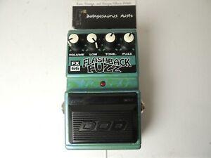 DOD FX66 Flashback Fuzz Effects Pedal w/Original Box Free USA Ship
