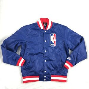 Details about Nike SB NBA Icon Bomber Jacket Royal Blue Red White AH3392 455 Men's S M
